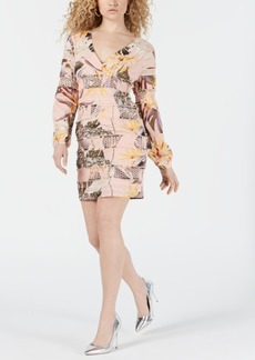 Guess Long-Sleeve Yvette Dress