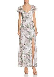 GUESS Loyola Floral Print Maxi Dress