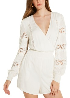 Guess Lumi Embroidered Romper