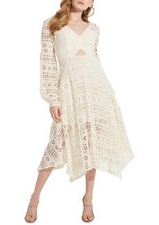 Guess Marcella Crocheted Midi Dress