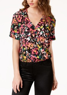 Guess Margarita Printed Wrap Top