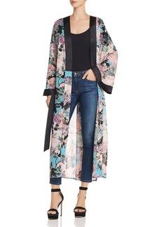 GUESS Maribel Floral Print Kimono