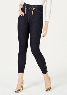 Guess Marilyn Hardware-Embellished Skinny Jeans
