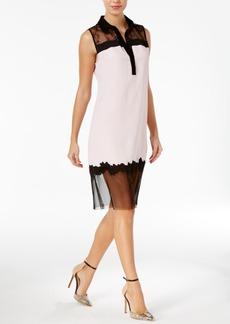 Guess Marisol Lace Contrast Dress