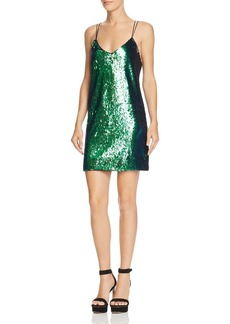 GUESS Marlee Sequined Slip Dress