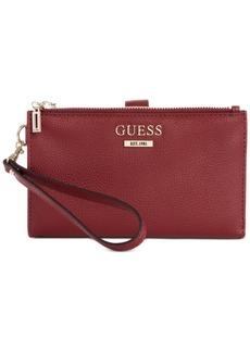 Guess Maxxe Double-Zip Organizer Wallet