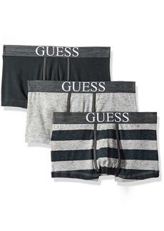 GUESS Men's 3 Pack Boxer Trunks