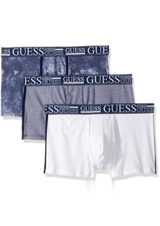 GUESS Men's 3 Pack Boxer Trunks  L
