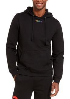 Guess Men's Arthur Ombre Rainbow Logo Hoodie