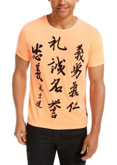 Guess Men's Asian Characters T-Shirt