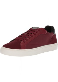 GUESS Men's Baez Sneaker red Synthetic 9.5 Medium US