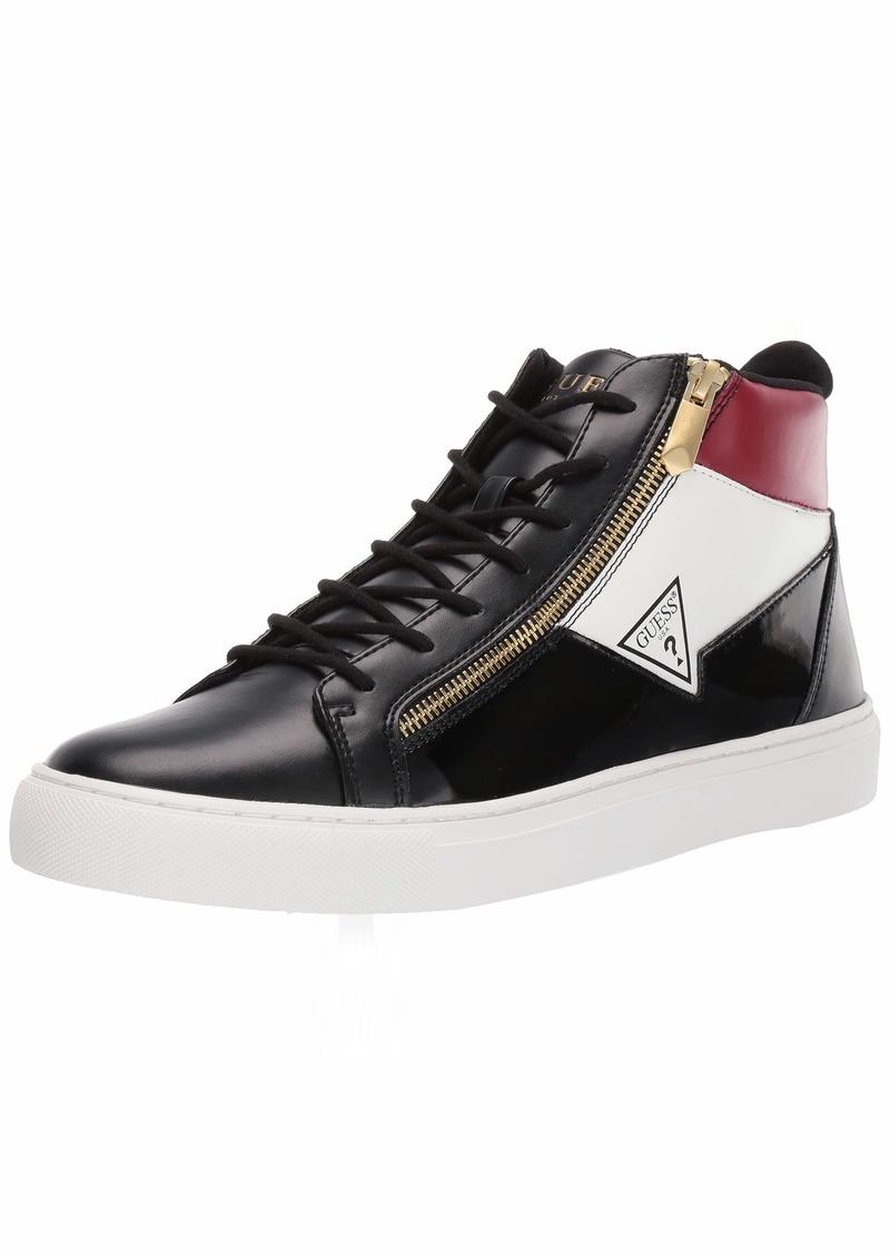 GUESS Men's Bari Sneaker   M US