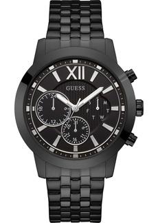 Guess Men's Black Stainless Steel Bracelet Watch 45mm