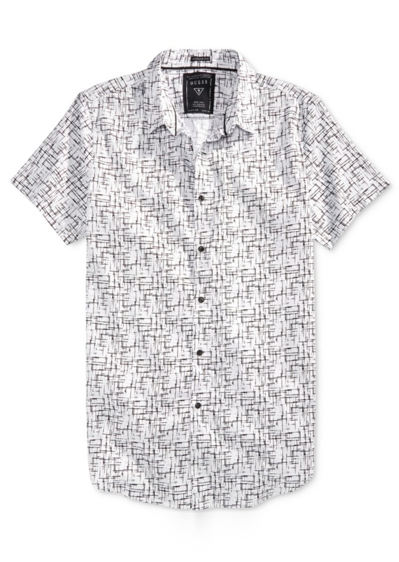 Guess Men's Brixton Longline Shirt