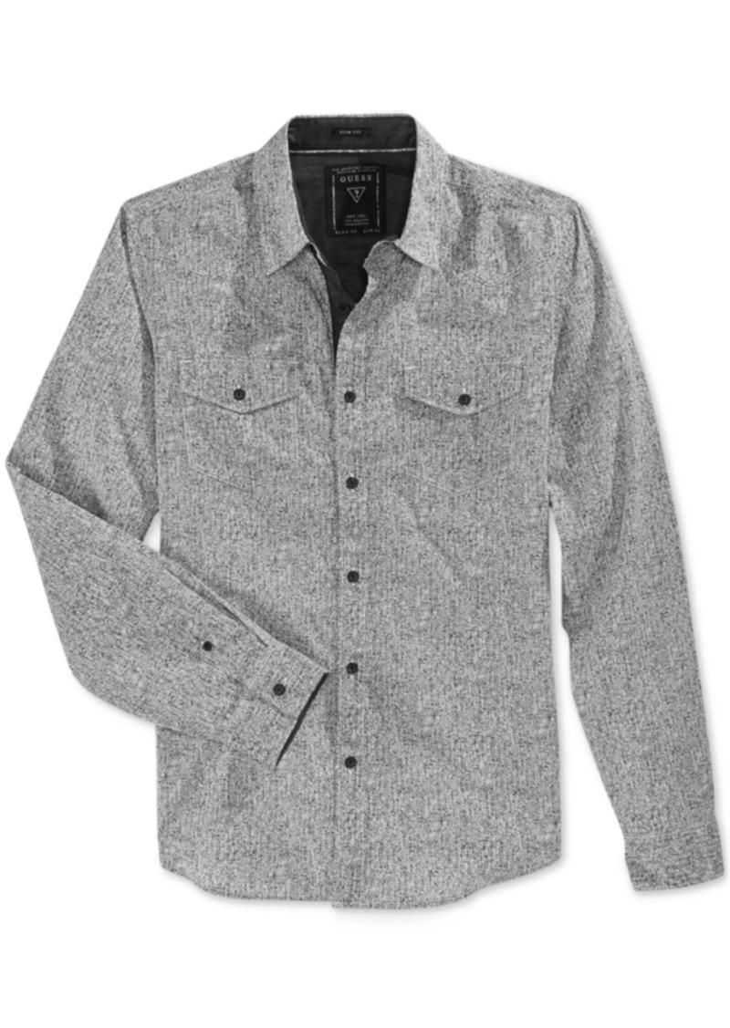 Guess Men's Brody Fleck Long-Sleeve Shirt