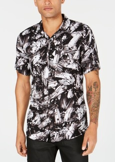 Guess Mens Brushstroke Shirt