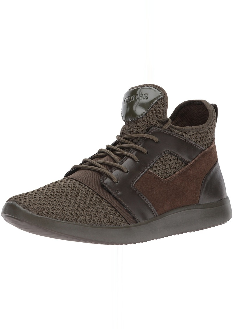 GUESS Men's Caleb Sneaker   Medium US