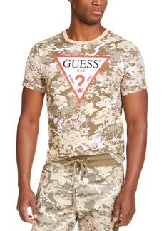 Guess Men's Camo Logo T-Shirt