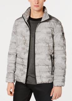 Guess Men's Camo Puffer Jacket
