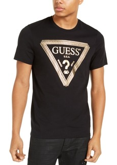 Guess Men's Chain Link Logo Graphic T-Shirt