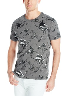 GUESS Men's Chief Feathers T-Shirt
