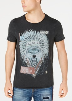 Guess Men's Chief Wolf Graphic T-Shirt