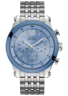 Guess Men's Chronograph Stainless Steel Bracelet Watch 46mm