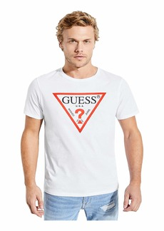 GUESS Men's Classic Triangle Logo Tee
