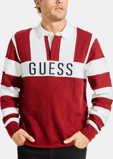 Guess Men's Colorblocked Rugby Shirt