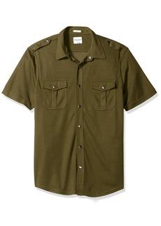 GUESS Men's Dean Mesh Shirt  L