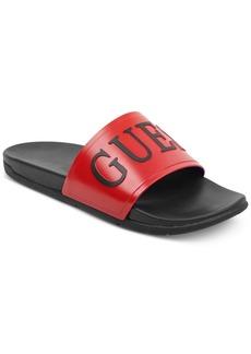 Guess Men's Delfino Soccer Slides Men's Shoes