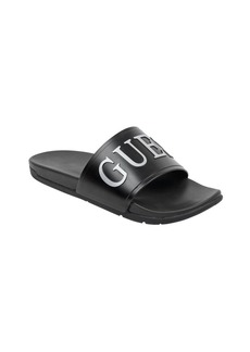 GUESS Men's DELFINO3 Slide Sandal   M US