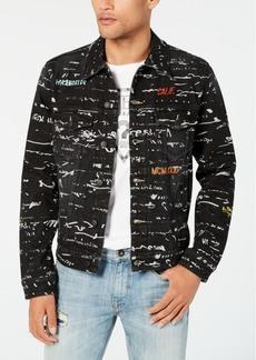 Guess Men's Dillon Graphic Jacket