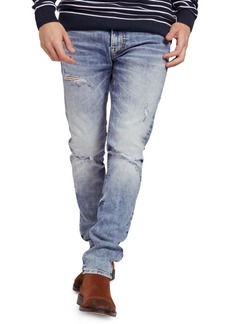 Guess Men's Eco Miami Distressed Skinny Jeans