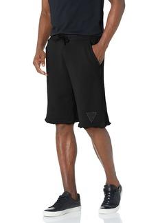 GUESS Men's Eco Patch Logo Shorts