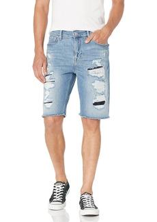 GUESS Men's Eco Slim Fit Denim Shorts