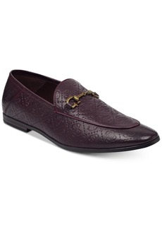 Guess Men's Edwin Patterned Loafers Men's Shoes