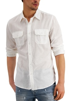 Guess Men's Eric Utility Shirt