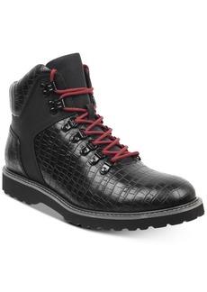 Guess Men's Faxon Lace-Up Boots Men's Shoes