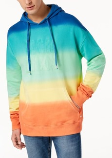 Guess Men's Finch Rainbow Hoodie