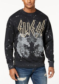 Guess Men's Finch Tour Graphic Sweatshirt