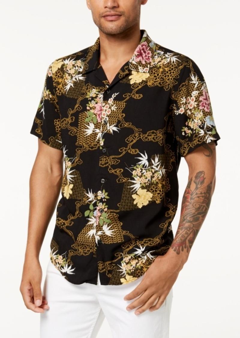 Guess Men's Floral Shirt