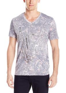 GUESS Men's Galaxy V-Neck T-Shirt  XL
