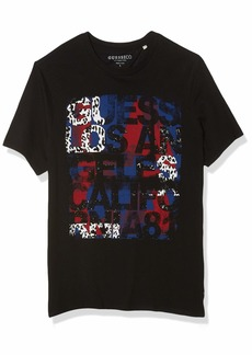 GUESS Men's Graphic Logo Tee