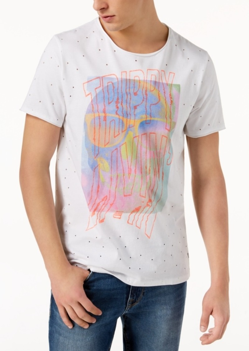 Guess Guess Mens Graphic Print T Shirt T Shirts