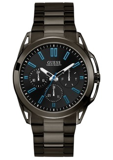Guess Men's Gunmetal Stainless Steel Bracelet Watch 44mm