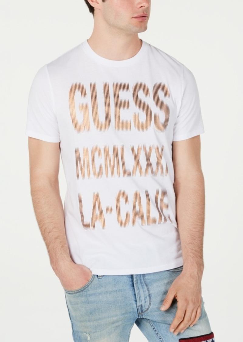 Guess Men's Halftone Logo T-Shirt