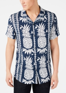 Guess Men's Hawaiian Pineapple Shirt