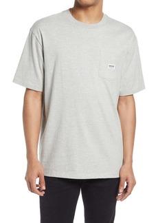 GUESS Men's Heathered Pocket T-Shirt