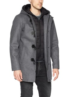 GUESS Men's Hooded Toggle Jacket  L